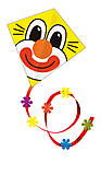Ромбовидный воздушный змей «Клоун», 1153
