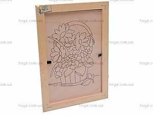 Роспись по дереву в рамке, Dр011-020, отзывы