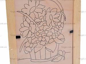 Роспись по дереву в рамке, Dр011-020, цена