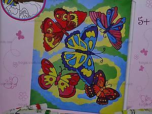 Роспись по холсту «Бабочки», 33211, цена
