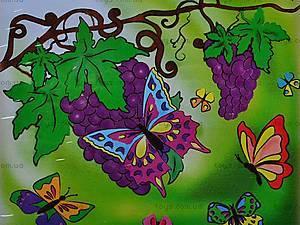 Роспись по холсту «Бархатные бабочки», 7106, цена