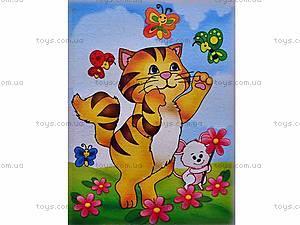 Роспись по холсту «Кошки-мышки», 7105, купить