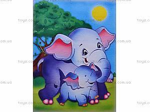Роспись по холсту «Слоненок», 7101, цена