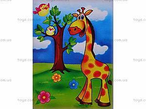 Роспись по холсту «Веселый жираф», 7100, отзывы