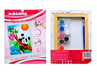 Роспись по холсту «Озорная панда», 71301, купить