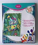 Детская роспись по холсту «Совушка», 57395, детские игрушки