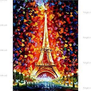 Роспись по номерам «Эйфелева башня в огнях», КН076