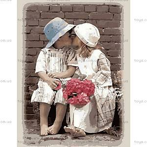 Роспись по номерам «Первый поцелуй», КН1044