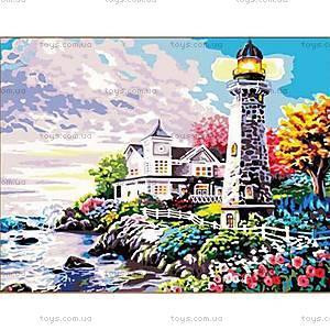 Роспись по номерам «Свет маяка», КН192