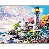 Роспись по номерам «Свет маяка», КН192, купить