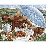Роспись по номерам «Утренний пикник», КН2201, купить