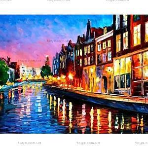 Роспись по номерам «Вечерний Амстердам», КН2142