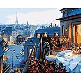 Роспись по номерам «Вид на Париж», КН1107, купить