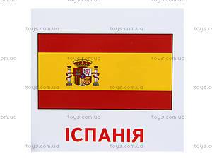 Раздаточные карточки «Страны. Флаги. Столицы», 1068-1, детские игрушки