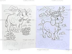 Раскраска с прописями «В гостях у лошадки», С551007РУ, купить