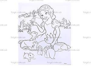 Детская раскраска по номерам «Белоснежка», 4004-18, фото