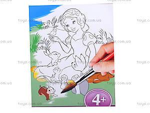 Детская раскраска по номерам «Белоснежка», 4004-18, цена