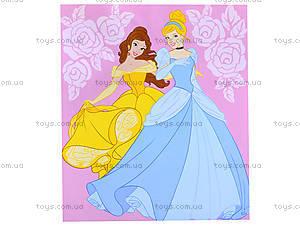 Детская раскраска по номерам «Принцессы Белль и Золушка», 4004-19, фото