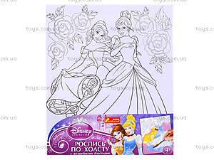 Детская раскраска по номерам «Принцессы Белль и Золушка», 4004-19, отзывы