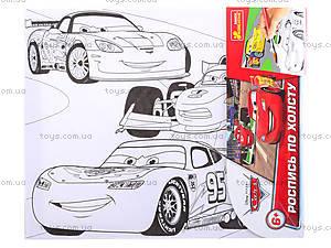 Раскраска для детей по номерам «Тачки», 4004-17, отзывы