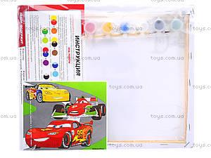 Раскраска для детей по номерам «Тачки», 4004-17, цена