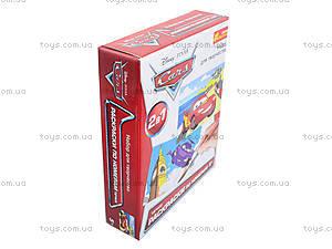 Детский набор  раскрасок по номерам «Тачки», 4004-15, фото