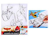 Раскраска для детей по номерам «Летачки», 4004-24, тойс ком юа