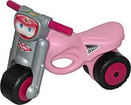 Розовая каталка - мотоцикл, 48233, фото