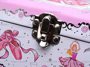 Розовая шкатулка с балериной, BT-C-004, купить