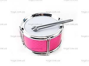 Розовый барабан для барабанщиц,