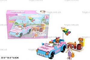 Розовый конструктор для девочек «Страна чудес», 24415