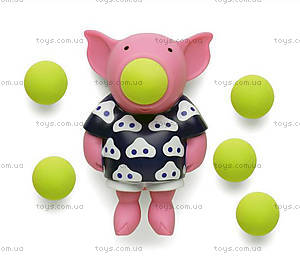Игрушечный поросёнок-поппер Pig, 27425