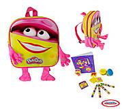 Розовый рюкзак ПИНКИ с набором PLAY-DOH, CPDO091