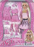 Набор с куклой «Розовый стиль», 35080, фото