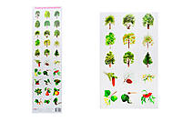 Разрезной материал «Деревья», 2991, фото