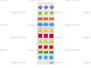 Разрезной материал «Геометрические фигуры», 2987, фото