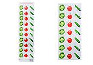 Разрезной материал «Овощи», 2995, фото