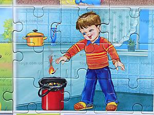 Умные пазлы «Маленькие пожарники», 6317, отзывы