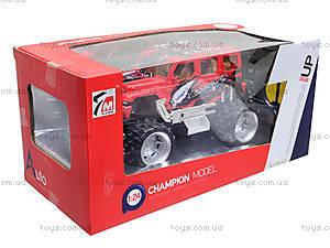 Игрушечный джип на радиоуправлении «Чемпион», 7M-902, toys