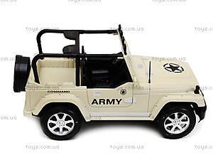 Джип на радиоуправлении Army, 6137-3, детские игрушки