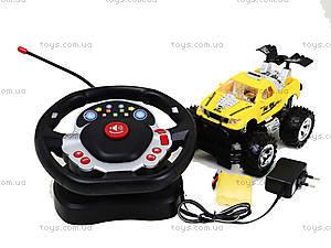 Машина на радиоуправлении с рулем «Джип», 689-506, toys