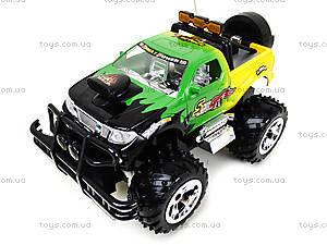 Радиоуправляемая машина с рулем «Джип», 689-511, детские игрушки