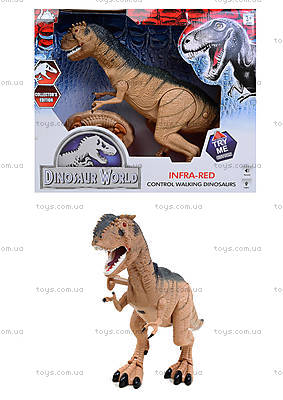 Радиоуправляемая игрушка «Динозавр Рекс», RS6121