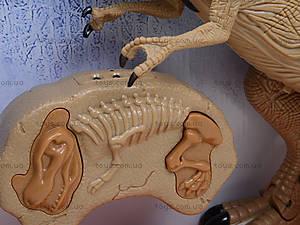 Радиоуправляемая игрушка «Динозавр Рекс», RS6121, детские игрушки