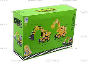 Игрушка на радиоуправлении «Экскаватор», 8106, игрушки