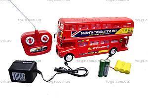 Радиоуправляемая игрушка «Лондонский автобус», R556, фото