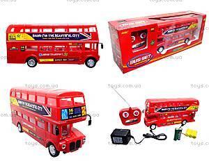 Радиоуправляемая игрушка «Лондонский автобус», R556