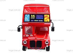Радиоуправляемая игрушка «Лондонский автобус», R556, toys.com.ua