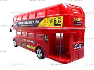Радиоуправляемая игрушка «Лондонский автобус», R556, детский