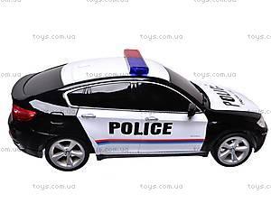 Р/У Машина BMW X6 «Полиция», 866-1401PB, фото